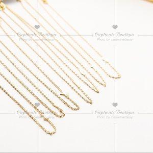 J. Crew Jewelry - J.CREW Petite Initial Pendant Necklace - U